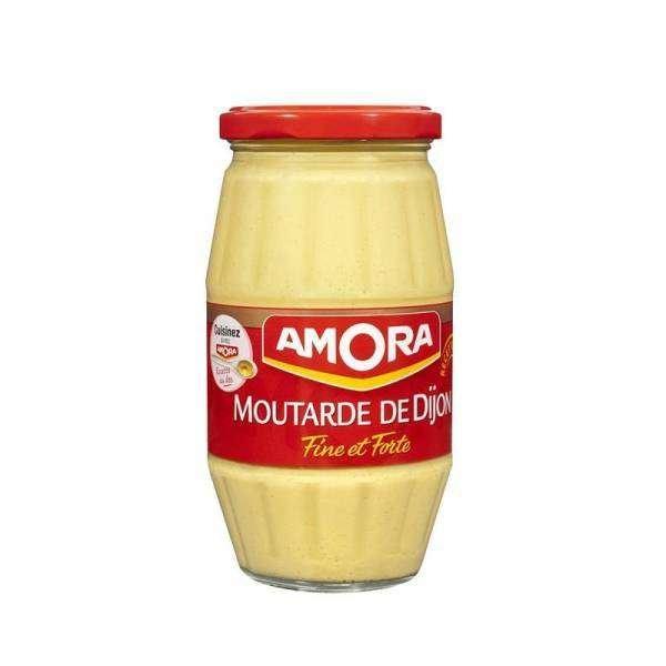 Amora Dijon Senf im 440g Glas