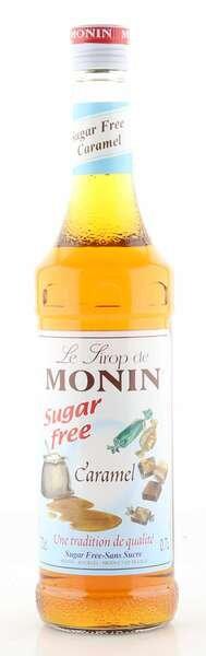 Monin Sirup Karamell 0% zuckerfrei 0,7L Flasche