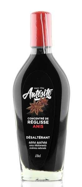 Antésite Lakritz Sirup mit Anis Konzentrat 13cl Glasflasche