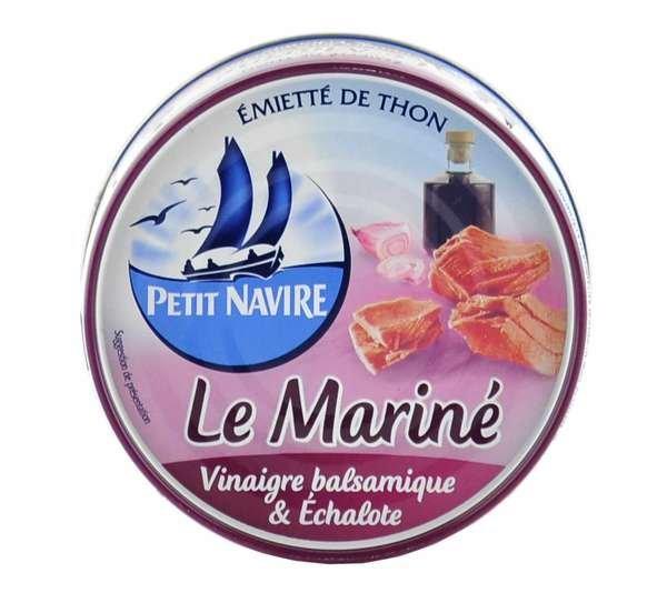 Petit Navire Thunfisch mariniert mit Balsamico und Schalotten 110g