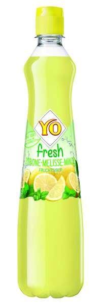 YO fresh Sirup Zitrone-Melisse-Minze
