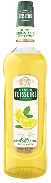 Bar Sirup Zitrone sauer - Teisseire Special Barman - 1L