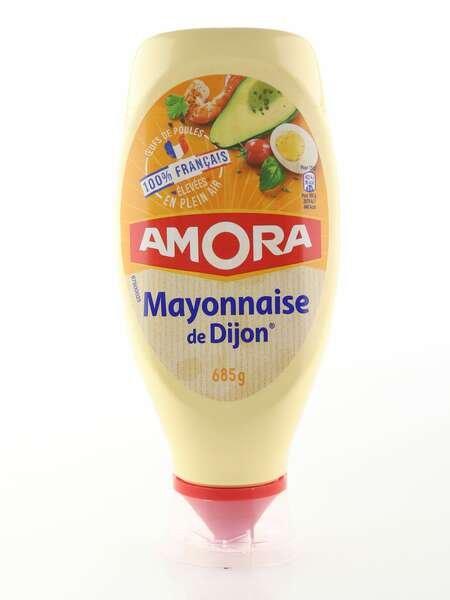Amora Mayonnaise de Dijon 685g Standtube 100% francais