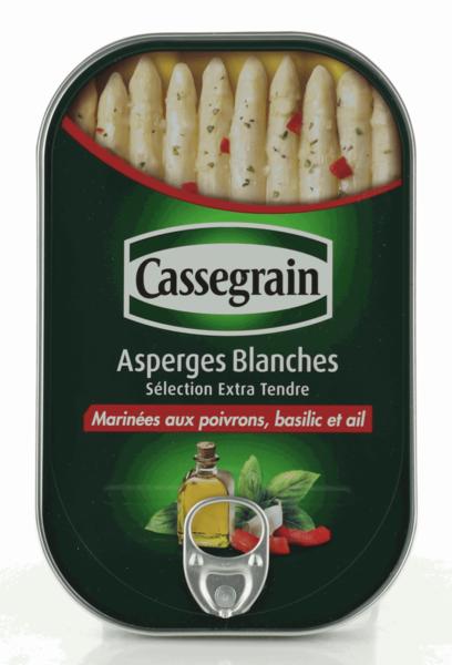Cassegrain marinierter weißer Spargel