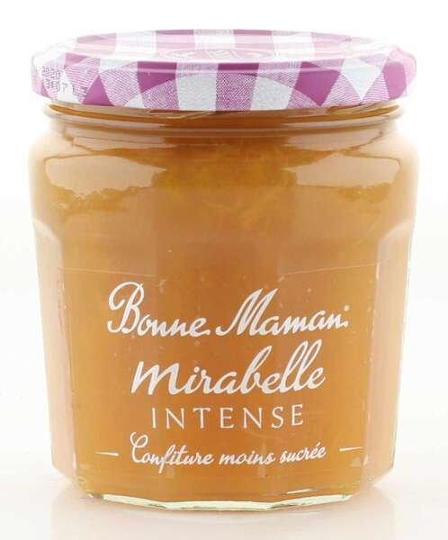 "Bonne Maman Intense (intensiv fruchtig) ""Mirabelle"" 335g Glas"