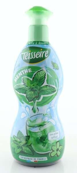 Teisseire Sirup Pfefferminze in der 700ml Dosierflasche