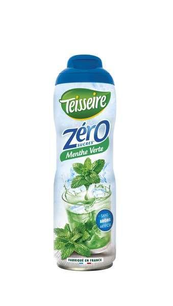 Teisseire Zero Sirup Minze zuckerfrei 600ml