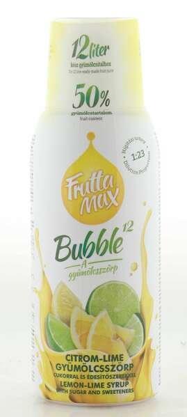 Frutta Max Bubble Zitronen- & Limetten Sirup