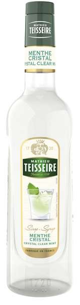 Bar Sirup klare Minze - Teisseire Special Barman - 700ml