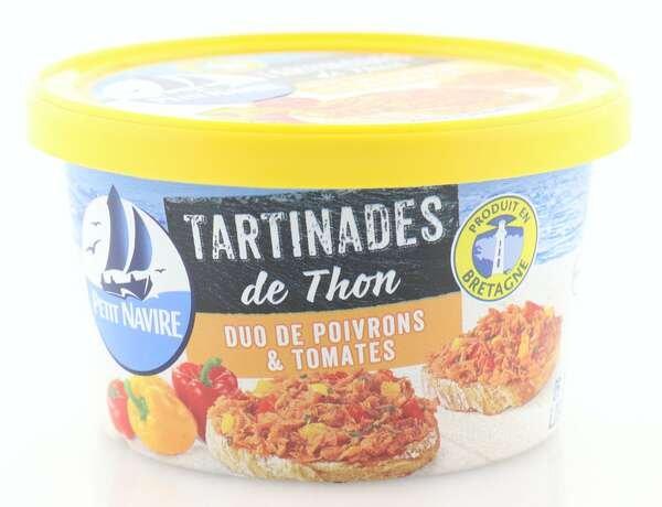 Petit Navire Aufstrich mit Thunfisch, Paprika und Tomate
