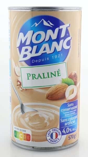 Mont Blanc Cremedessert Praline 570g