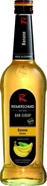 Riemerschmid Bar-Sirup Banane 0,7L