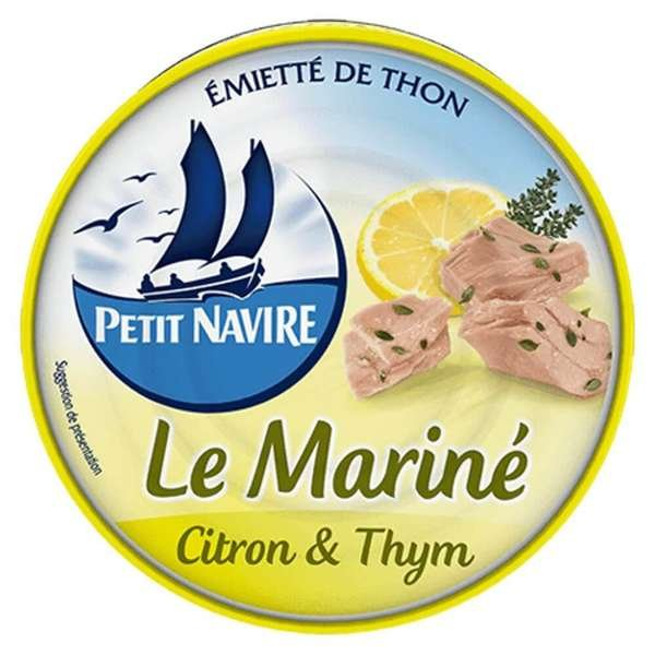 Petit Navire Thunfisch mariniert mit Zitrone und Thymian 110g