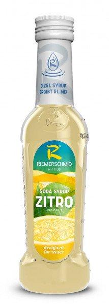 Riemerschmid Soda-Sirup Zitro