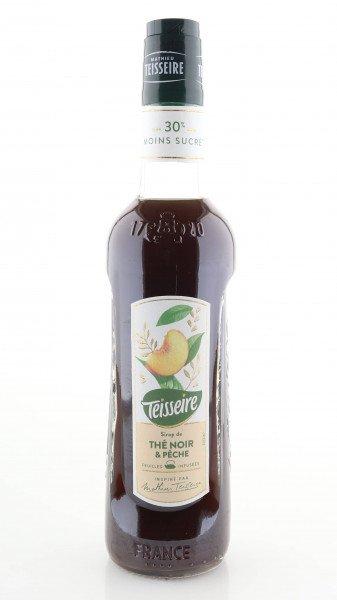 Teisseire Sirup schwarzer Tee + Pfirsich