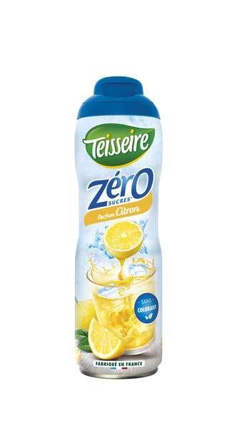 Teisseire Zero Sirup Zitrone zuckerfrei 600ml