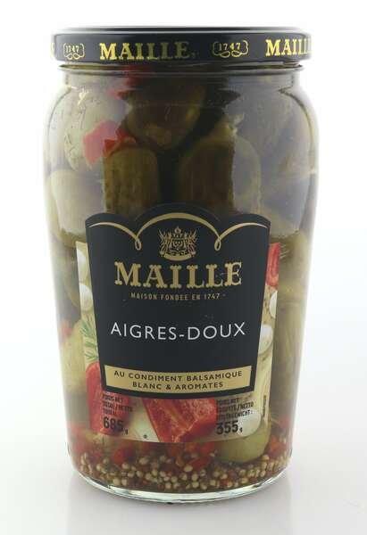 Maille Gurken Cornichons süß-sauer 355g