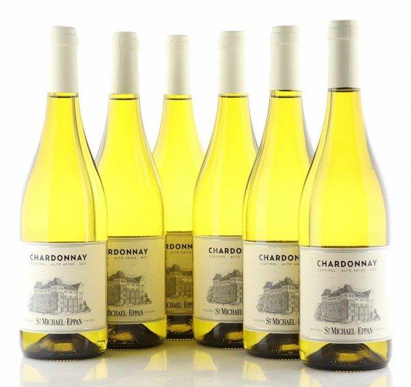 6 X St. Michael Eppan Chardonnay klassische Linie